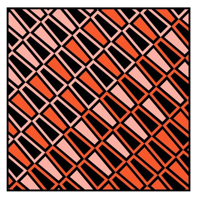 Geometriquilt: Sunday sketch #219-5