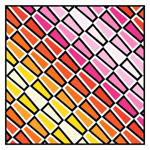 Geometriquilt: Sunday sketch #219-6