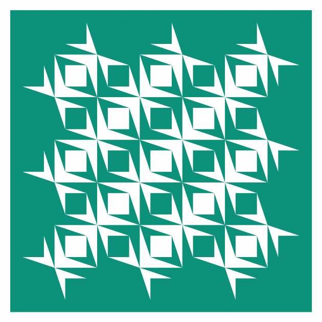 Geometriquilt: Sunday sketch #222-1