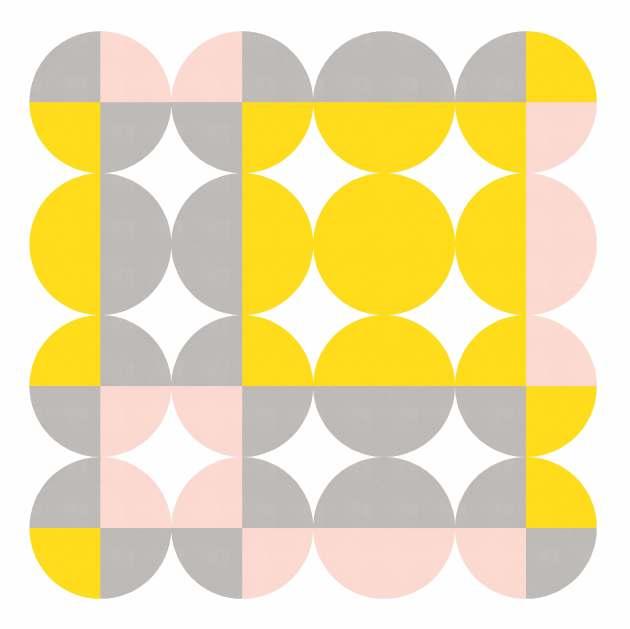 Geometriquilt: Sunday sketch 224-2