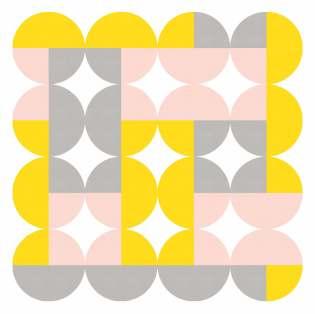 Geometriquilt: Sunday sketch 224-3