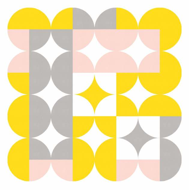 Geometriquilt: Sunday sketch 224-5