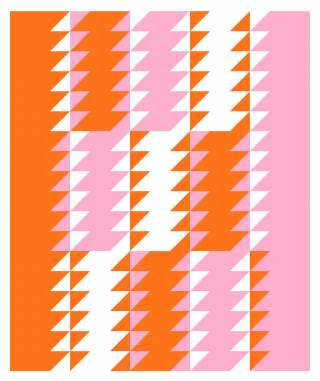 Geometriquilt: Sunday sketch #228-3