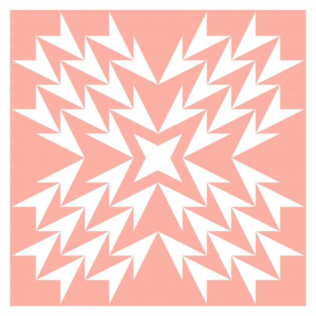 Geometriquilt: Sunday sketch #229-1