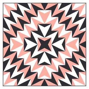 Geometriquilt: Sunday sketch #229-2