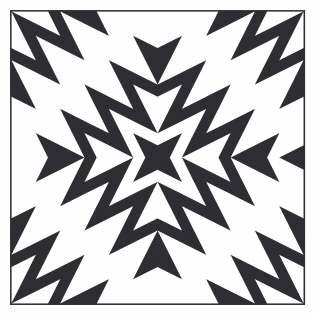 Geometriquilt: Sunday sketch #229-5