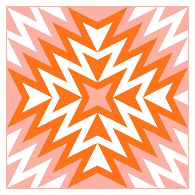 Geometriquilt: Sunday sketch #229-6