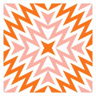 Geometriquilt: Sunday sketch #229-7