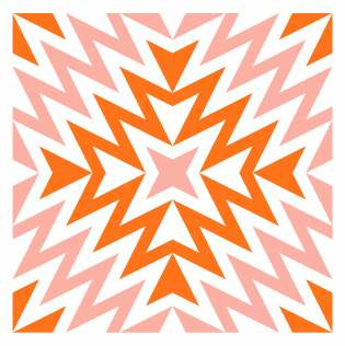 Geometriquilt: Sunday sketch #229-8
