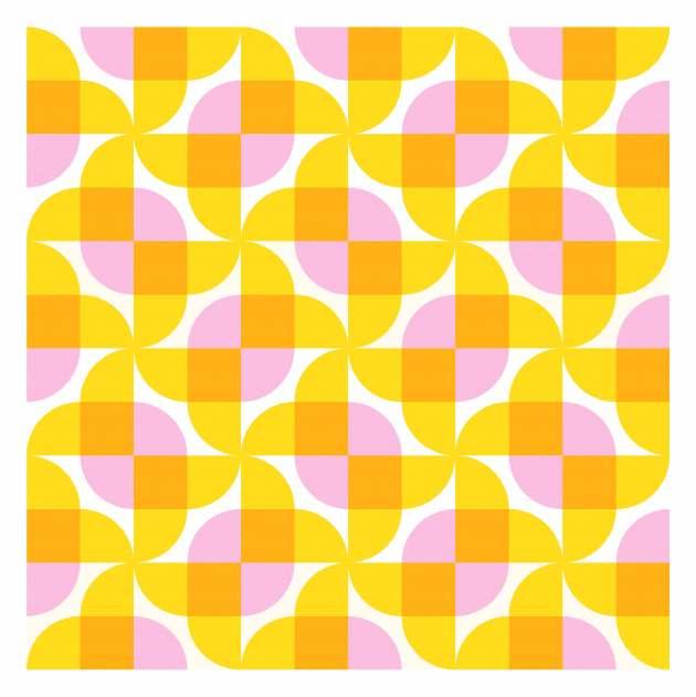 Geometriquilt: Sunday sketch #237-1