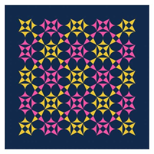 Geometriquilt: Sunday sketch #238-6