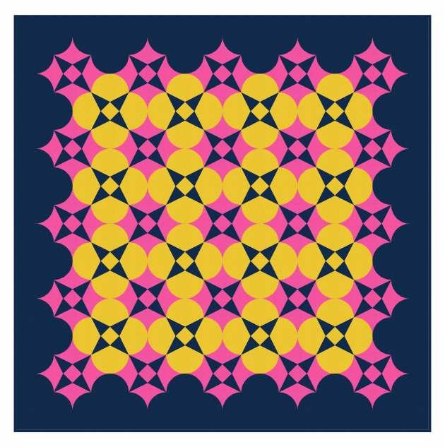 Geometriquilt: Sunday sketch #239-2