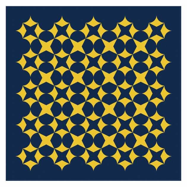 Geometriquilt: Sunday sketch #239-6