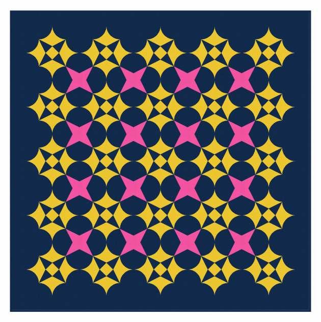 Geometriquilt: Sunday sketch #239-8