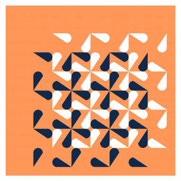 Geometriquilt: Sunday sketch #242-7