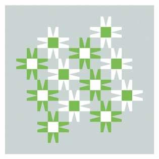 Geometriquilt: Sunday sketch #243-3