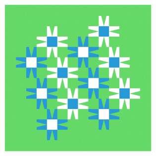 Geometriquilt: Sunday sketch #243-4
