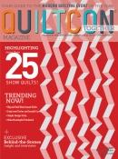 Geometriquilt: Fanfold quilt pattern